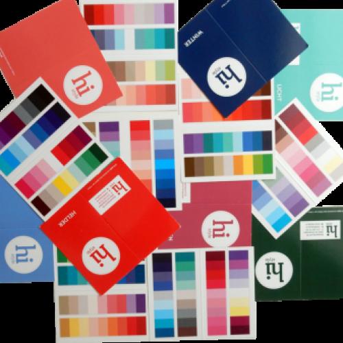 Strook-kleurkaarten